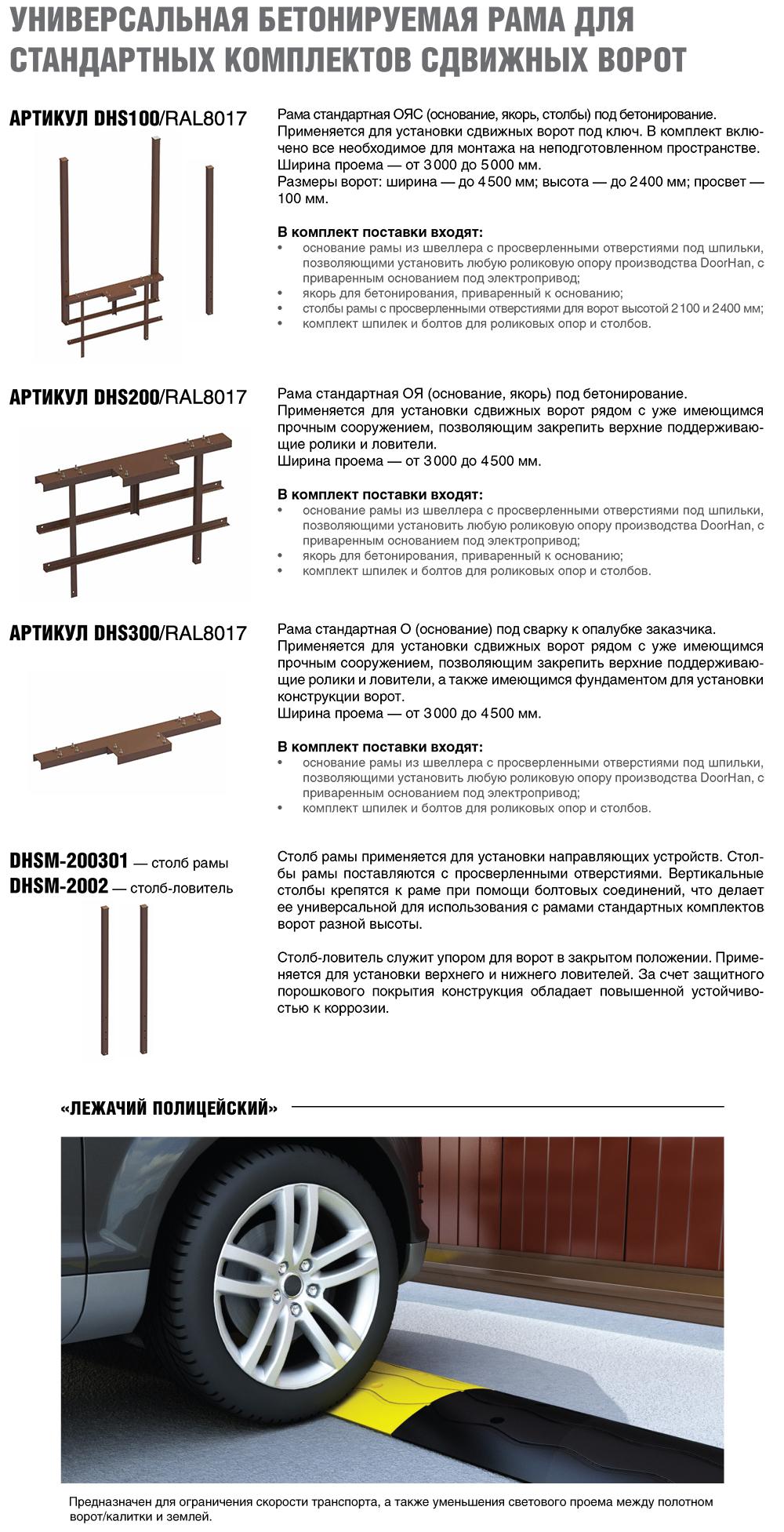 Комплектация и аксессуары воротDoorHan Revolution