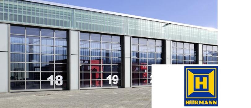 промышленные ворота фирмы h