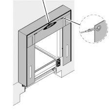 Установка герметизатора проема Alutech-Novodock